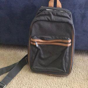 Crossbody thermal backpack